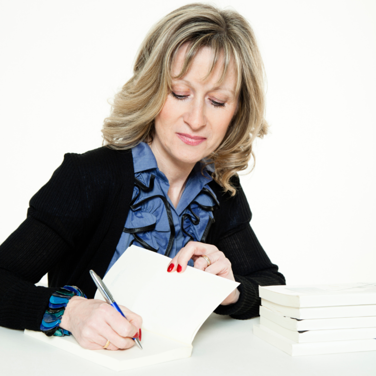 author signing book